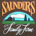 Saunders Family Farm logo column